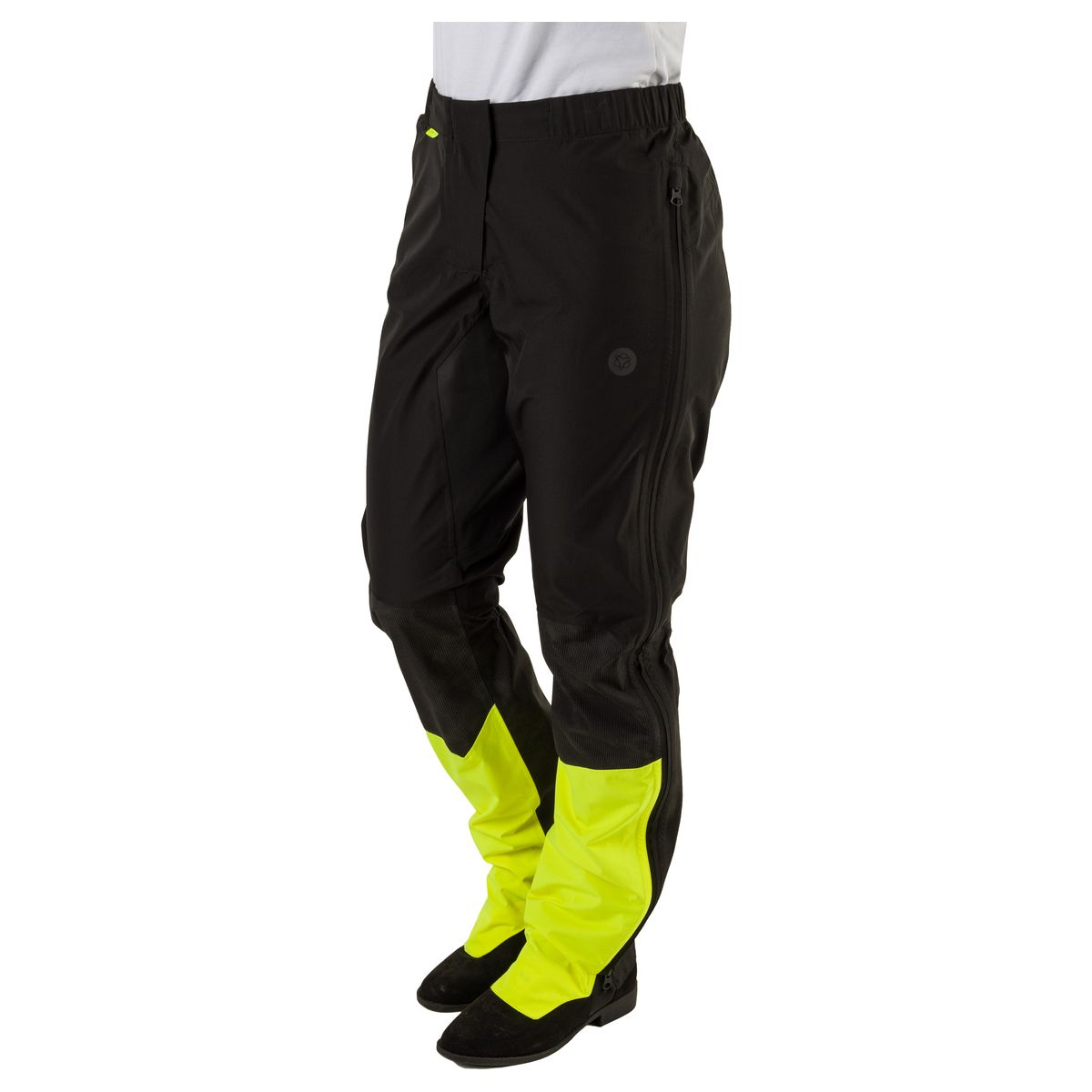 Tech Regenbroek Commuter Dames Hi-vis & Reflection fit example