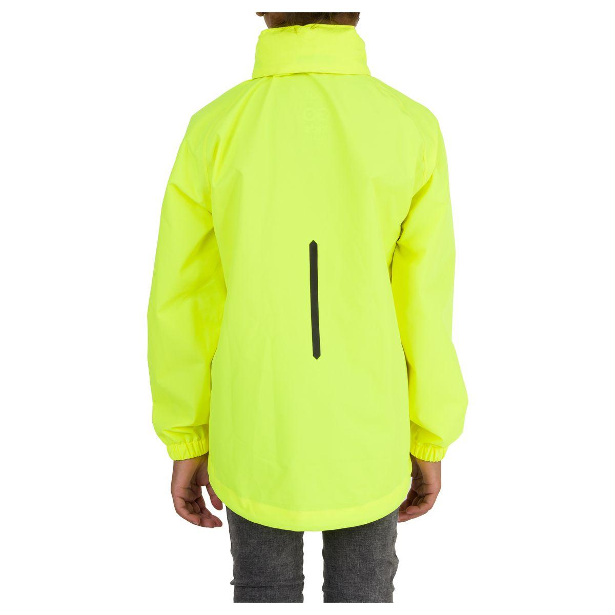 GO Kids Rain Jacket Essential fit example