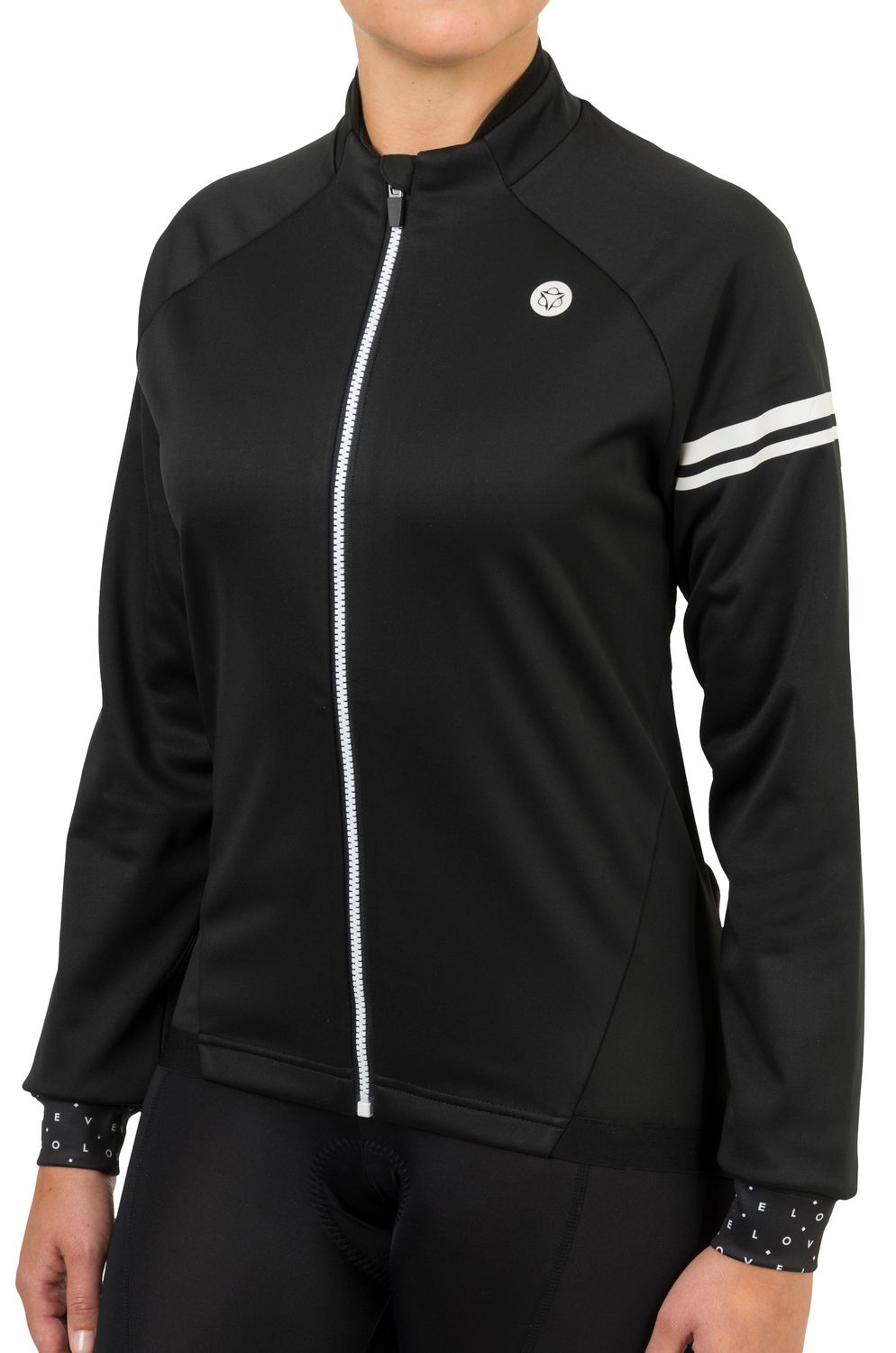 Winter Thermojack Essential Dames fit example