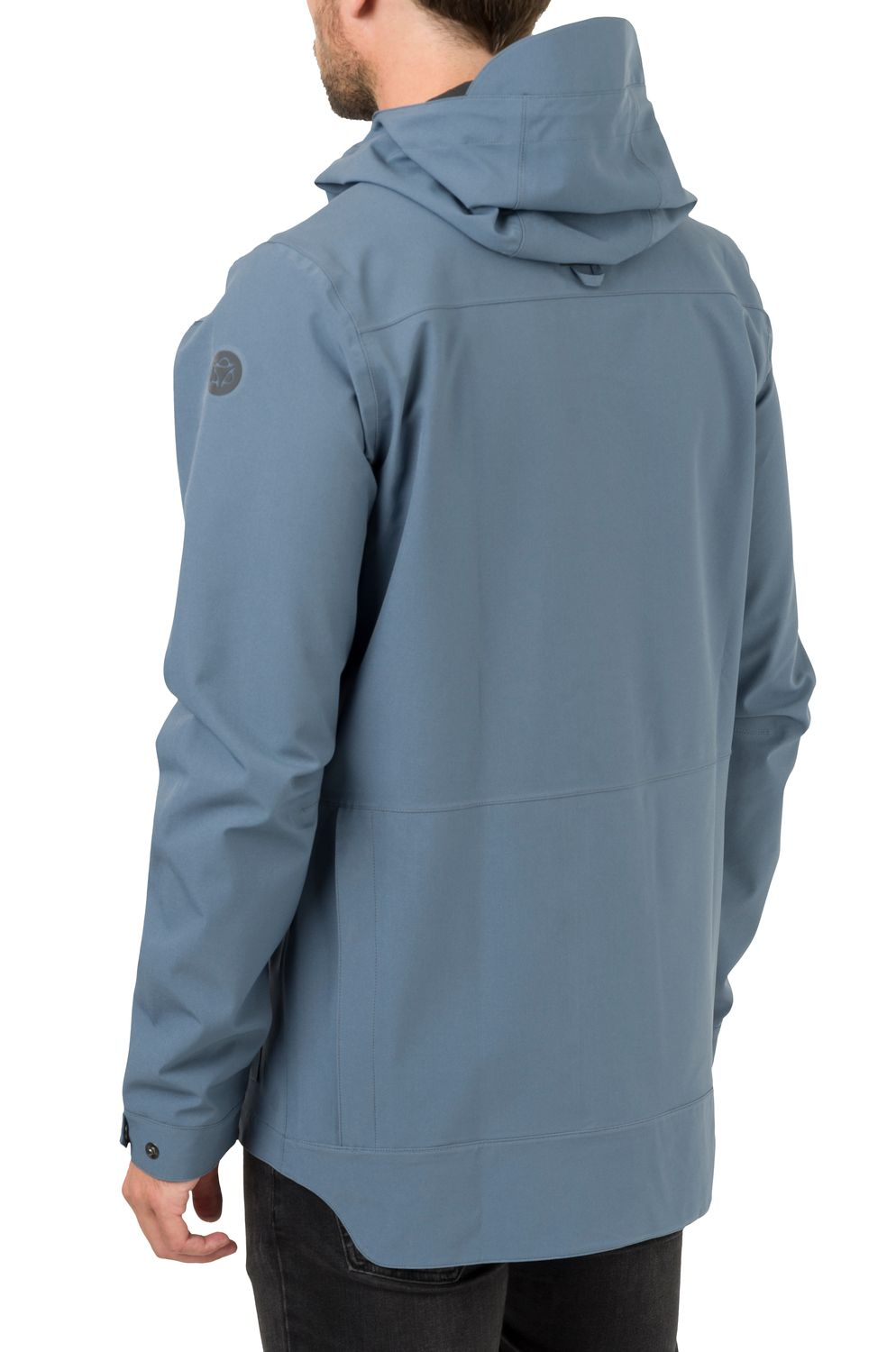 Pocket Regenjas Urban Outdoor Heren fit example