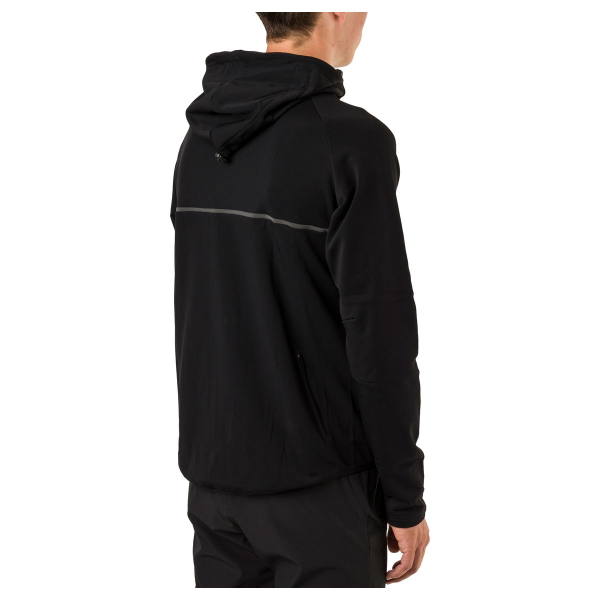 Shell Hoodie MTB Heren DWR fit example