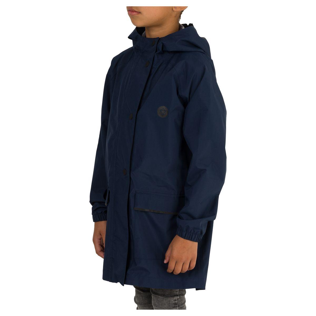 GO Parka Kids Rain Jacket Essential fit example