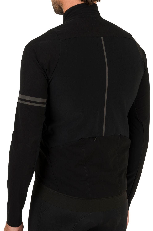 Woven Fietsshirt Lange Mouwen Premium Heren fit example