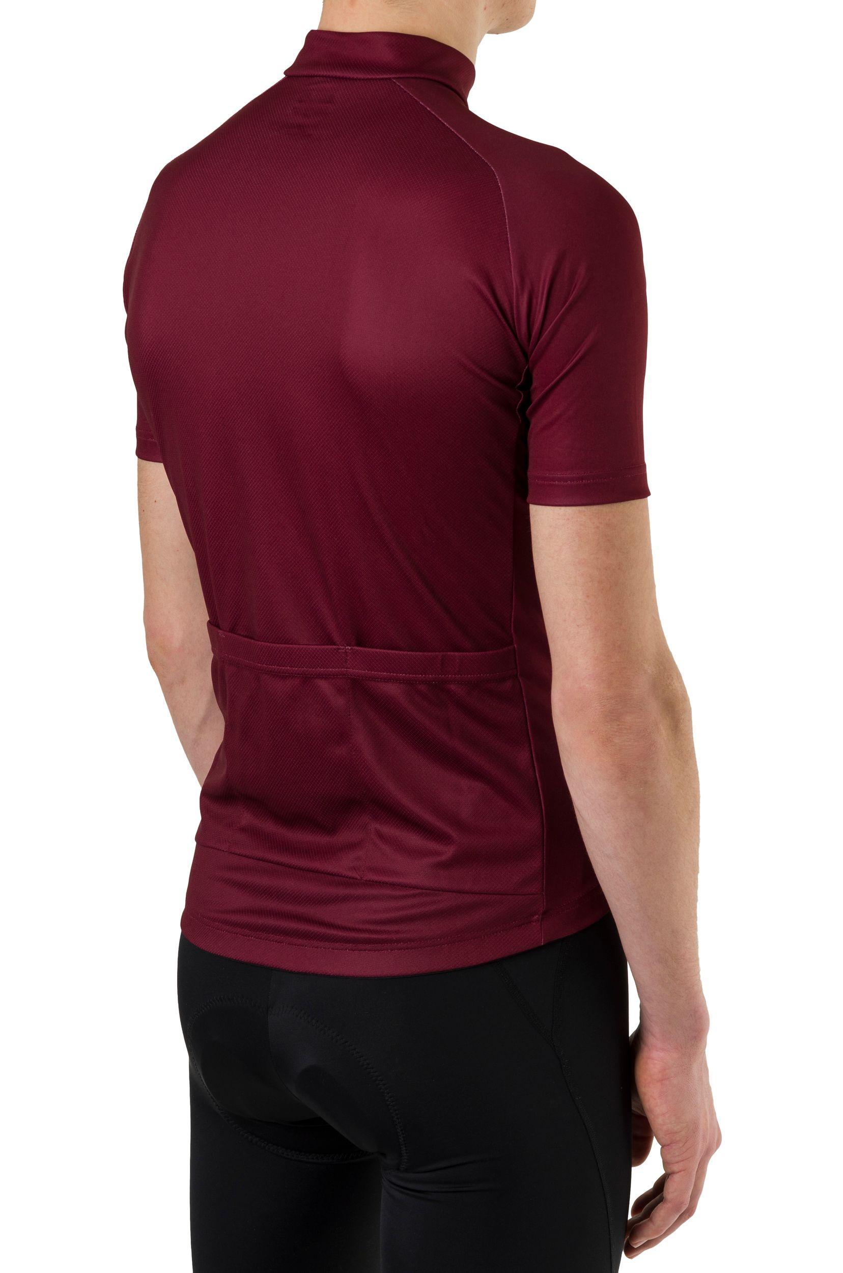 Striped Fietsshirt Essential Heren fit example
