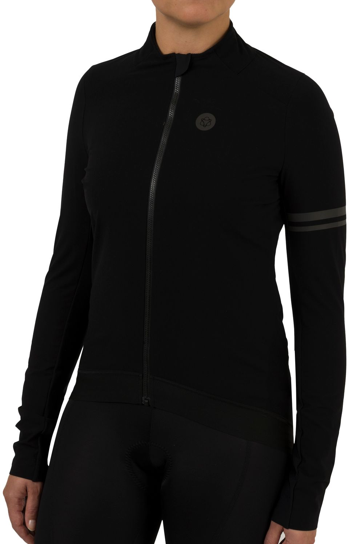 Woven Fietsshirt Lange Mouwen Premium Dames fit example