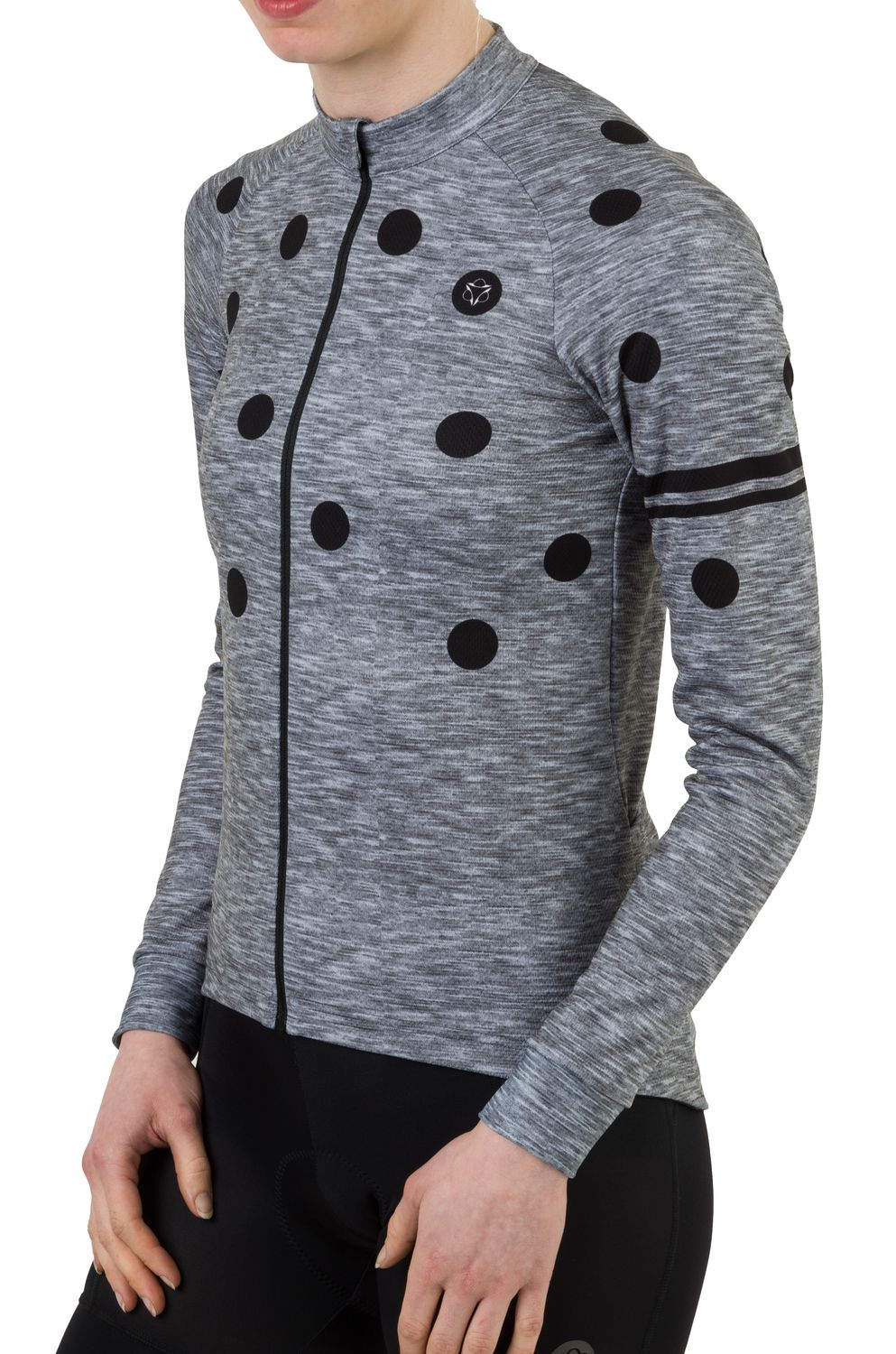 Dot Fietsshirt Lange Mouwen Essential Dames fit example