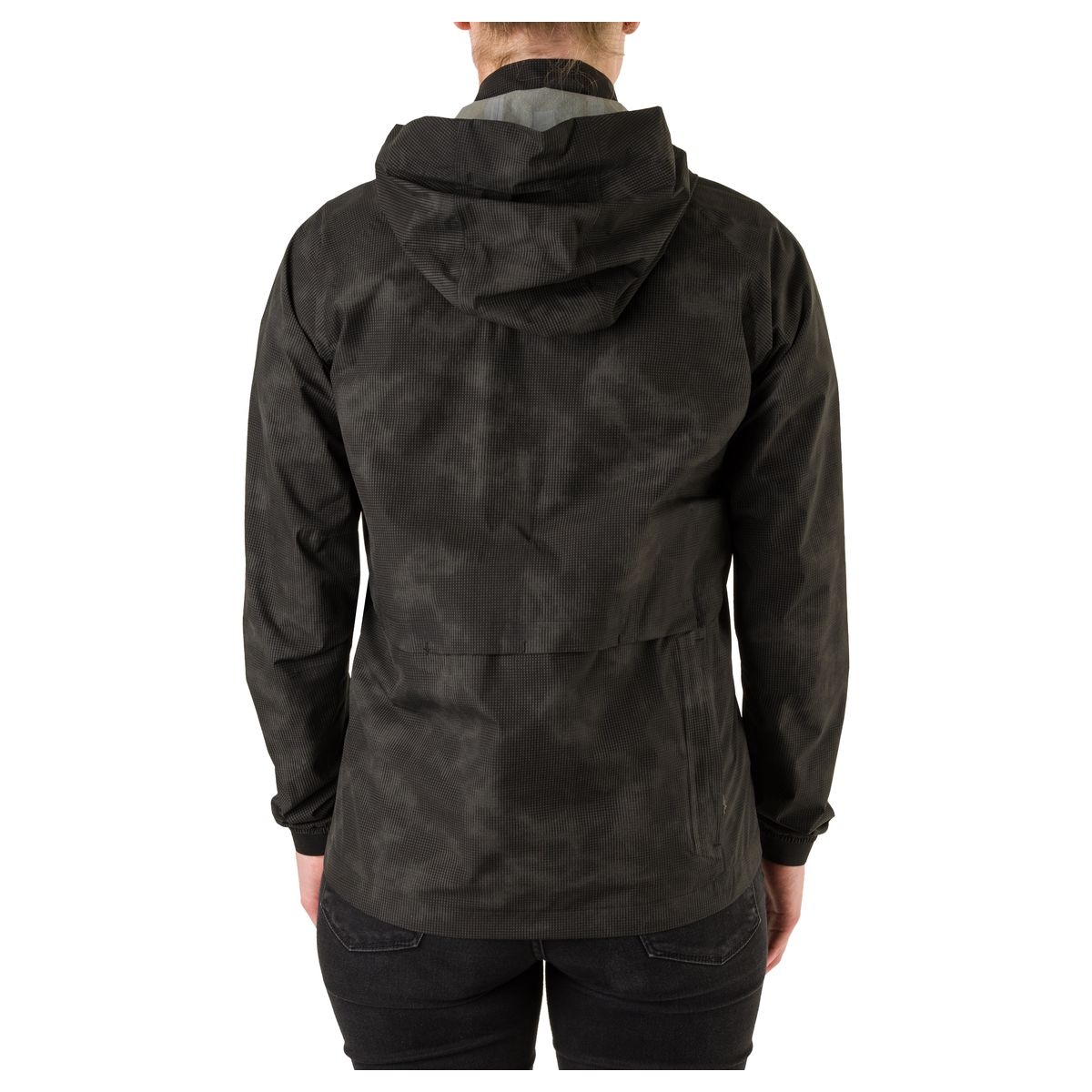 Compact Regenjacke Commuter Damen Reflection fit example