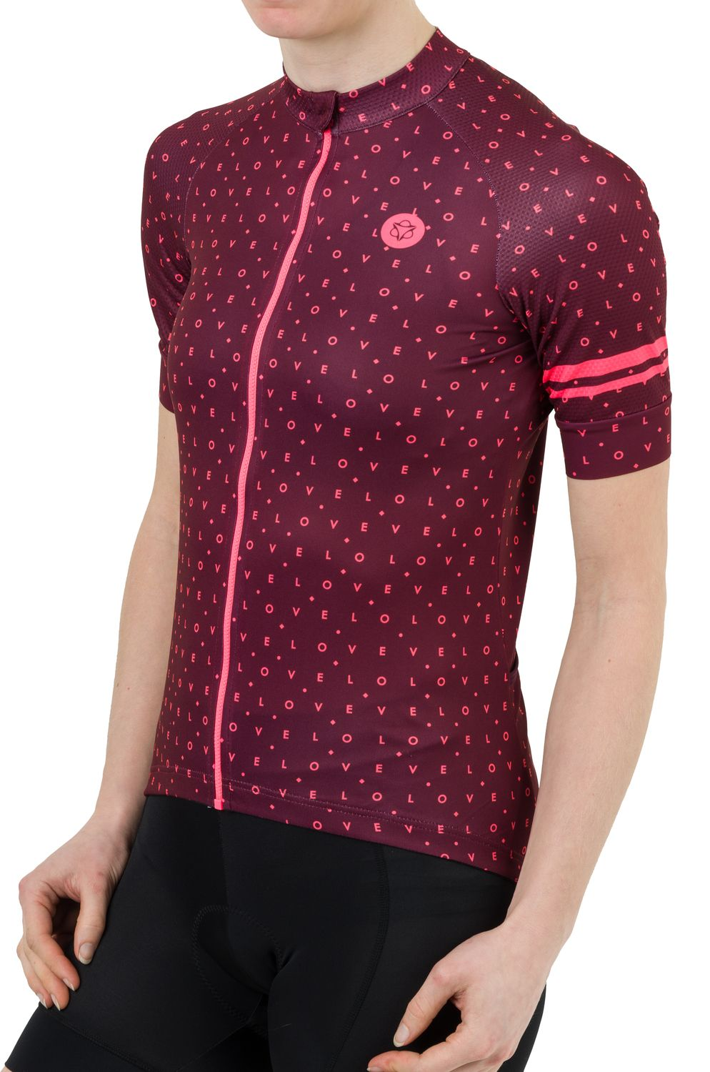 Velo Love Jersey SS Essential Women fit example