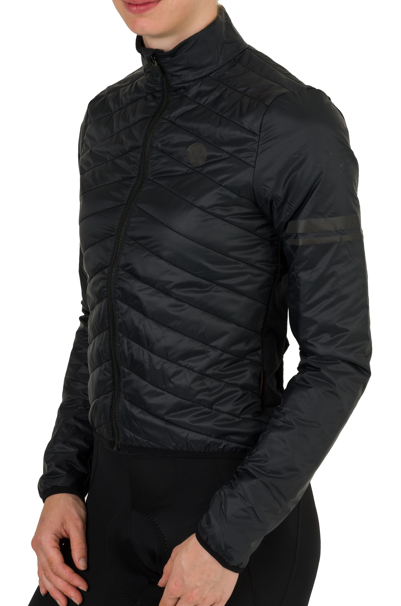 Padded Thermojacke Essential Damen fit example