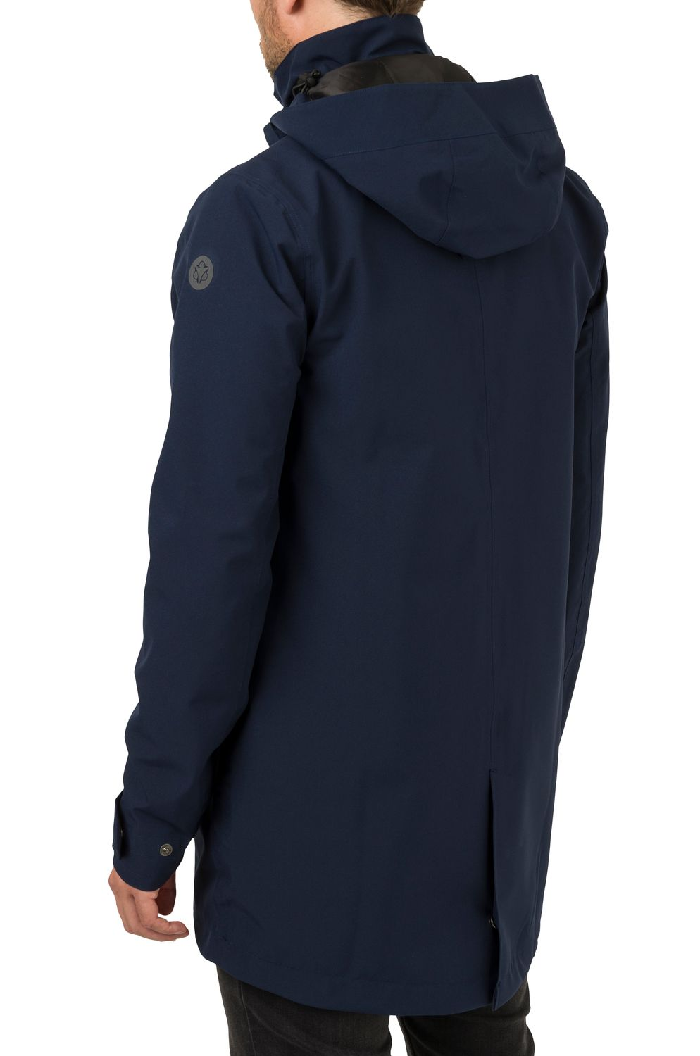 Parka Long Regenjas Urban Outdoor Heren fit example