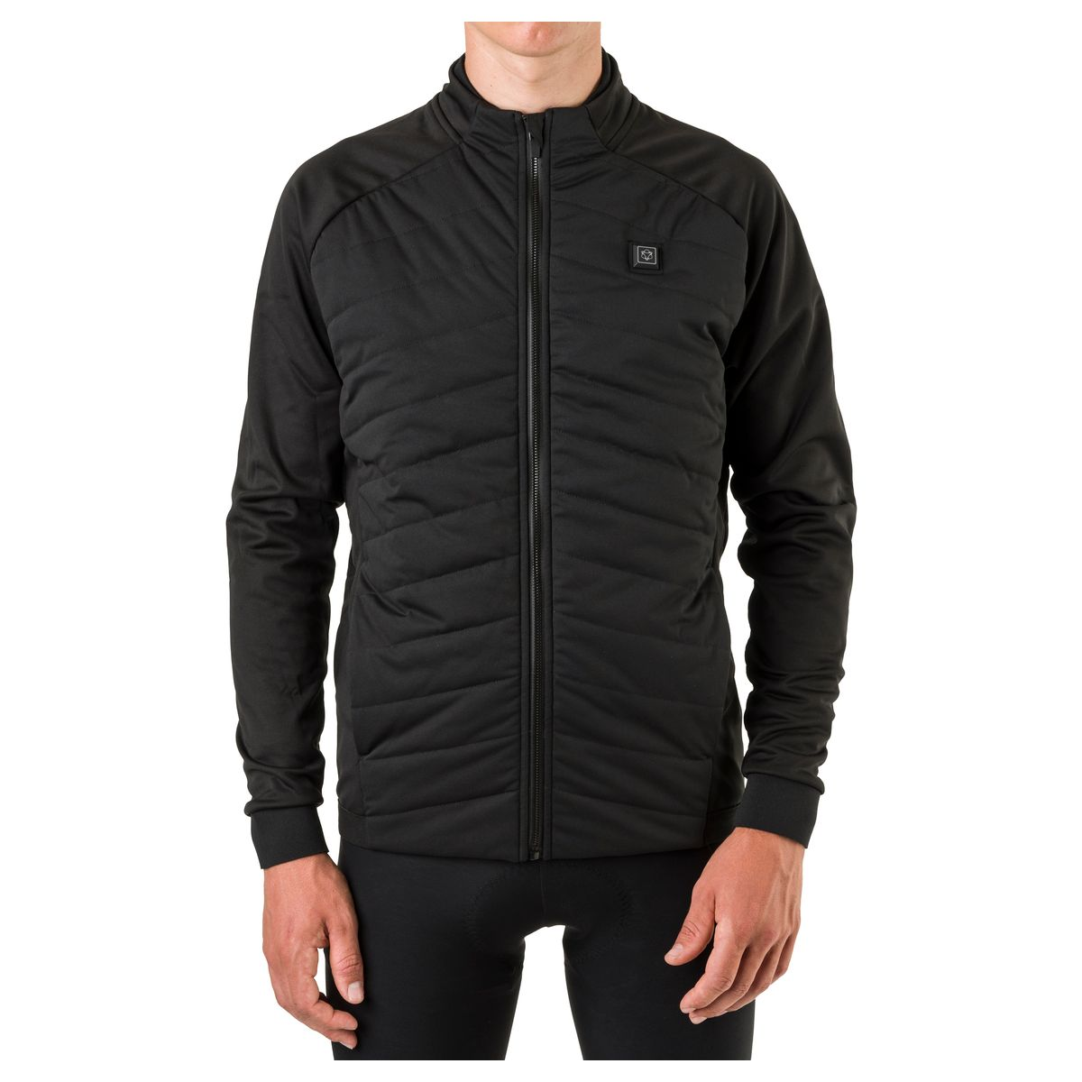 Heated Thermojacke Essential Herren LED fit example