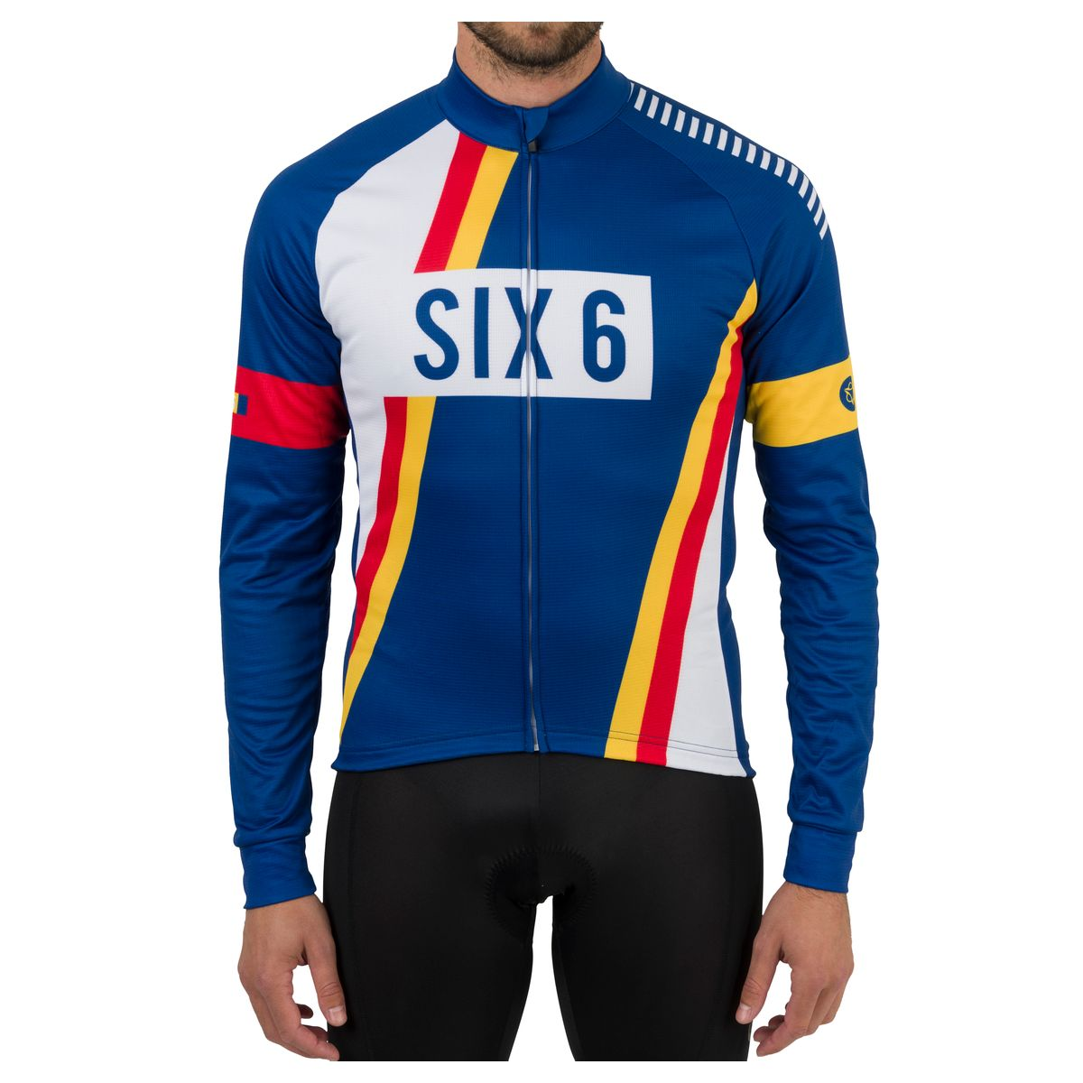 PNSC Fietsshirt Lange Mouwen Six6 Heren fit example