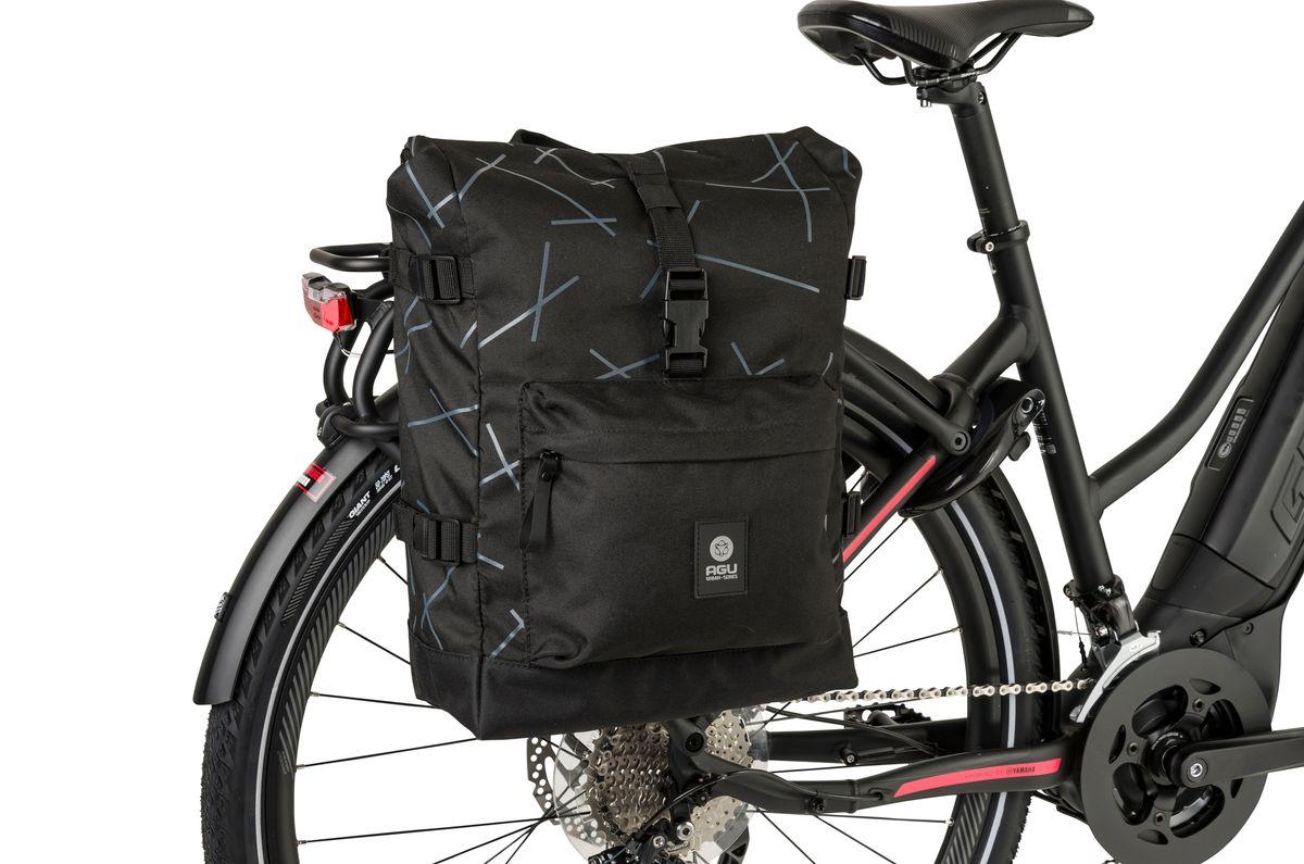 H2O Roll-Top Single Bike Bag Urban fit example