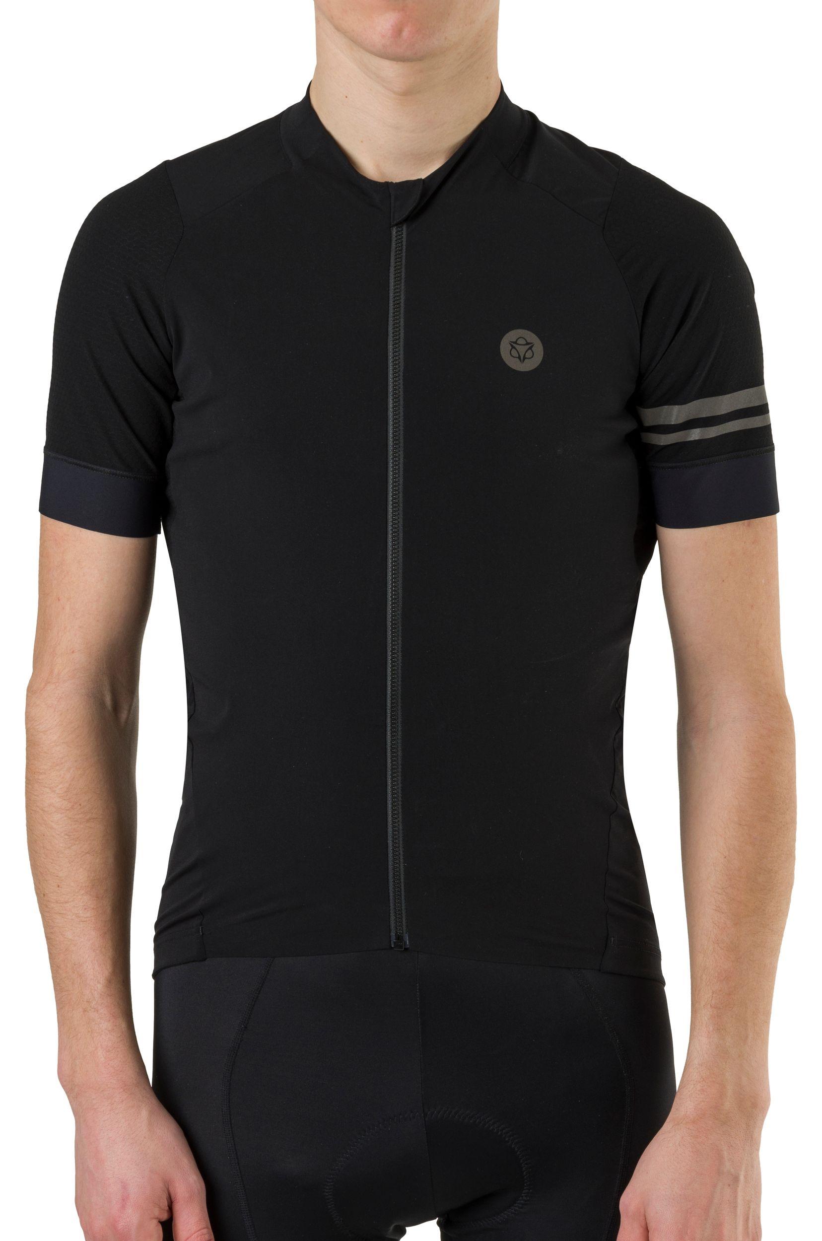 Woven Fietsshirt Premium Heren fit example