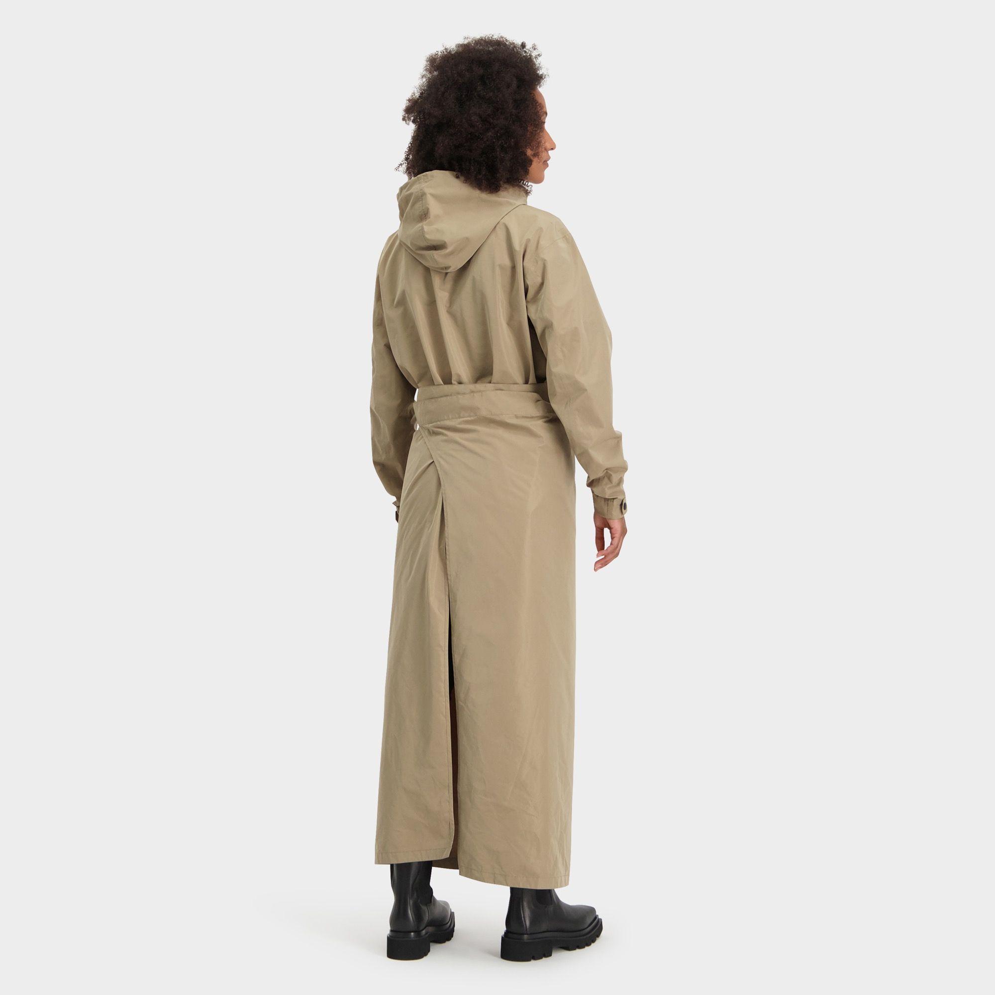 Rain Dress Anorak Urban Outdoor Dames fit example