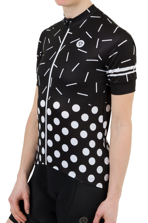 Sprinkle Dot Fietsshirt Essential Dames fit example