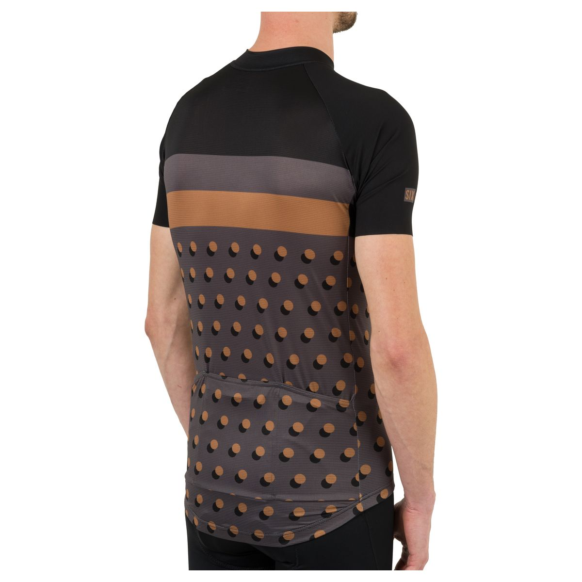Dot Fietsshirt Six6 Heren fit example
