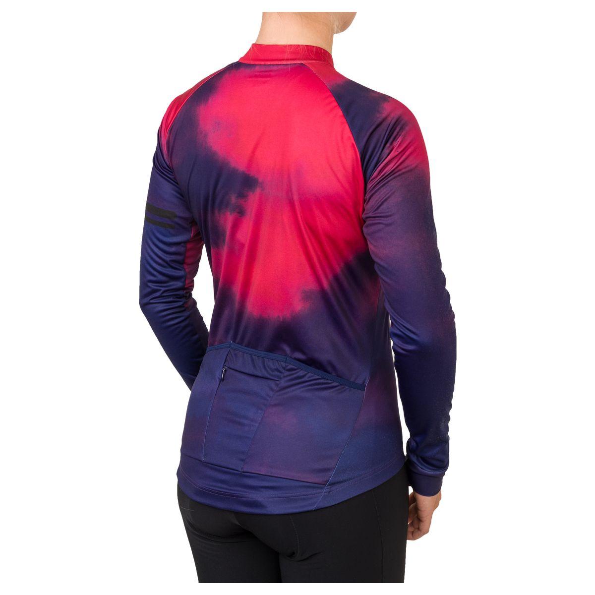 Aqua Fietsshirt Lange Mouwen Trend Dames fit example