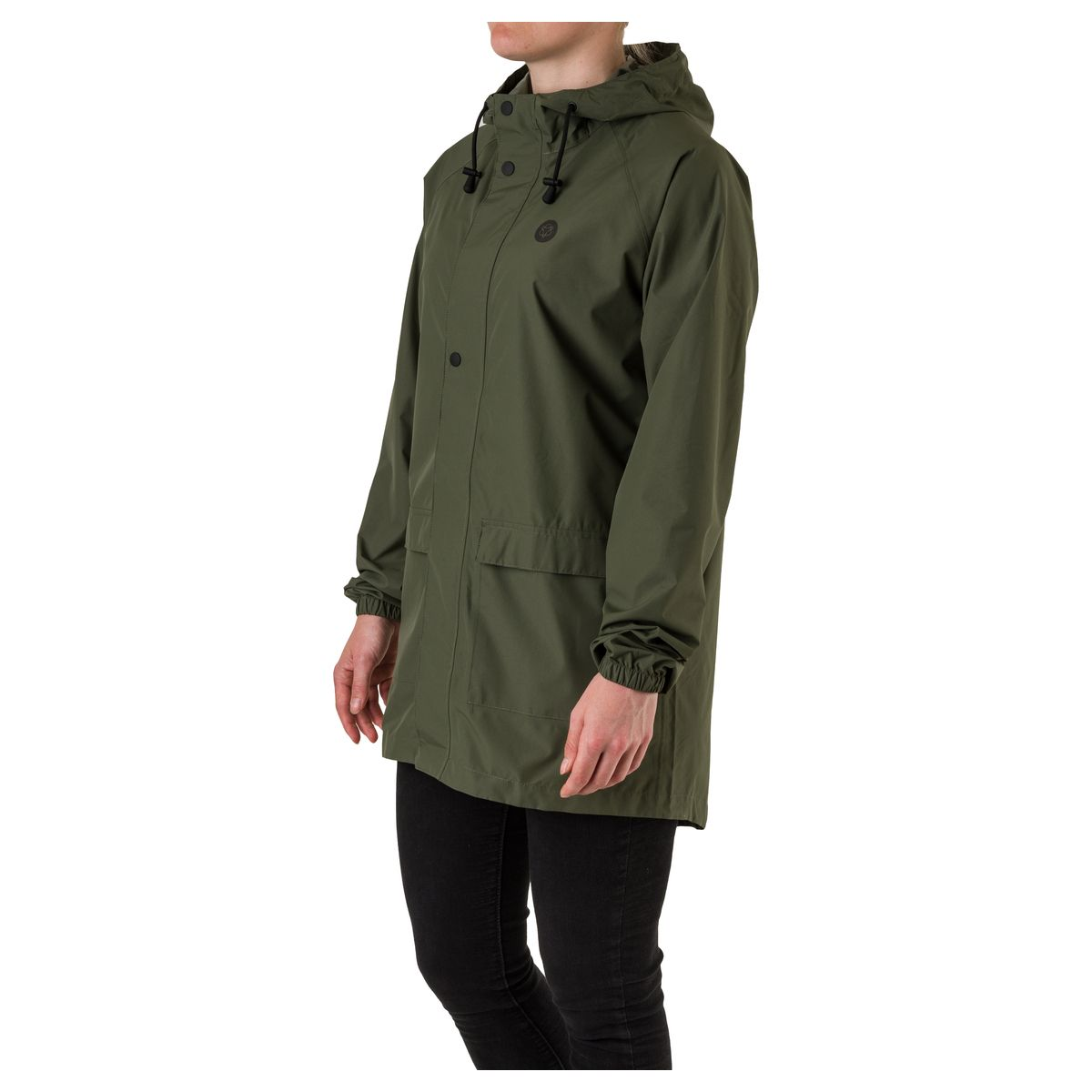 GO Parka Rain Jacket Essential fit example