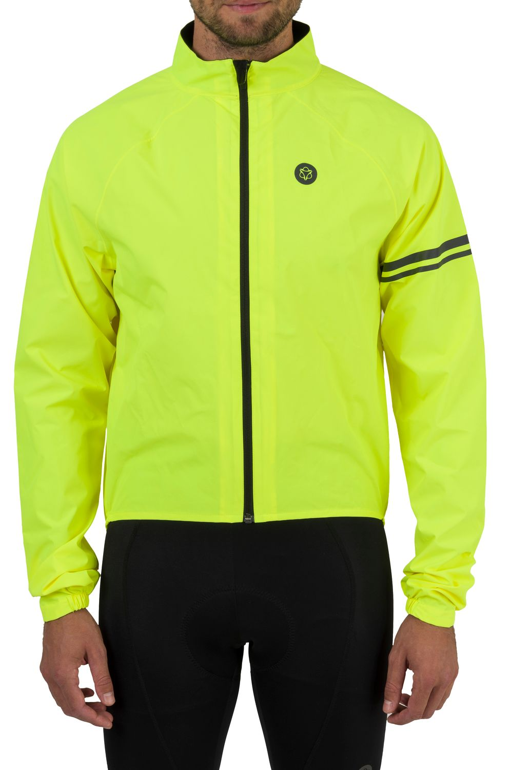 Rain Jacket Essential Men fit example