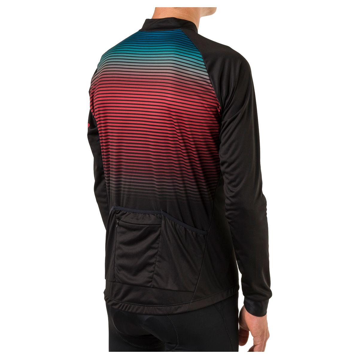 Stripe Fietsshirt Lange Mouwen Trend Heren fit example