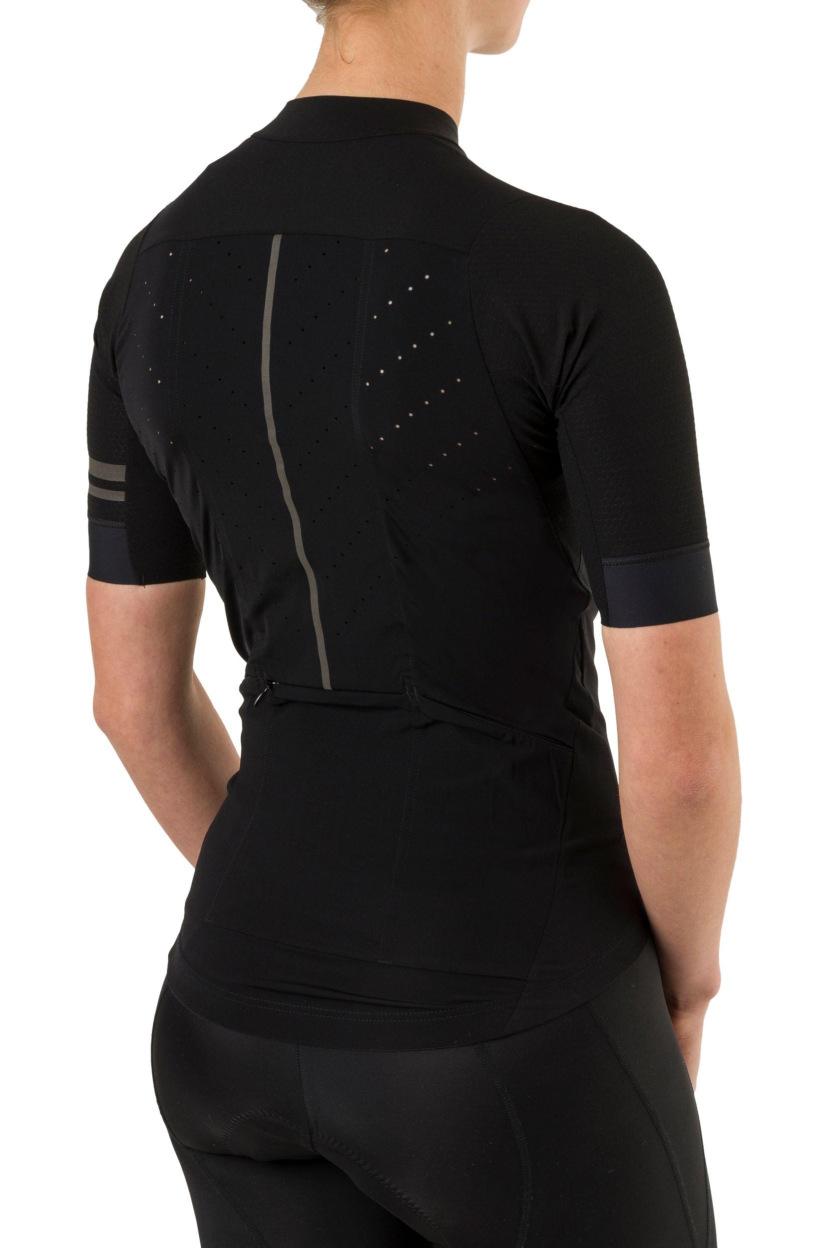 Woven Fietsshirt Premium Dames fit example