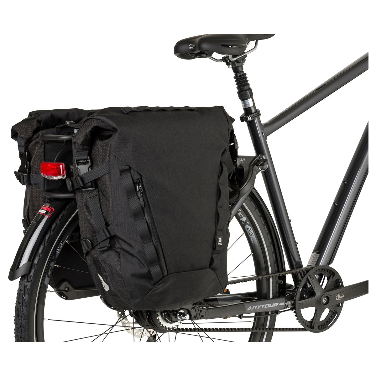 H2O Double Bike Bag Performance fit example