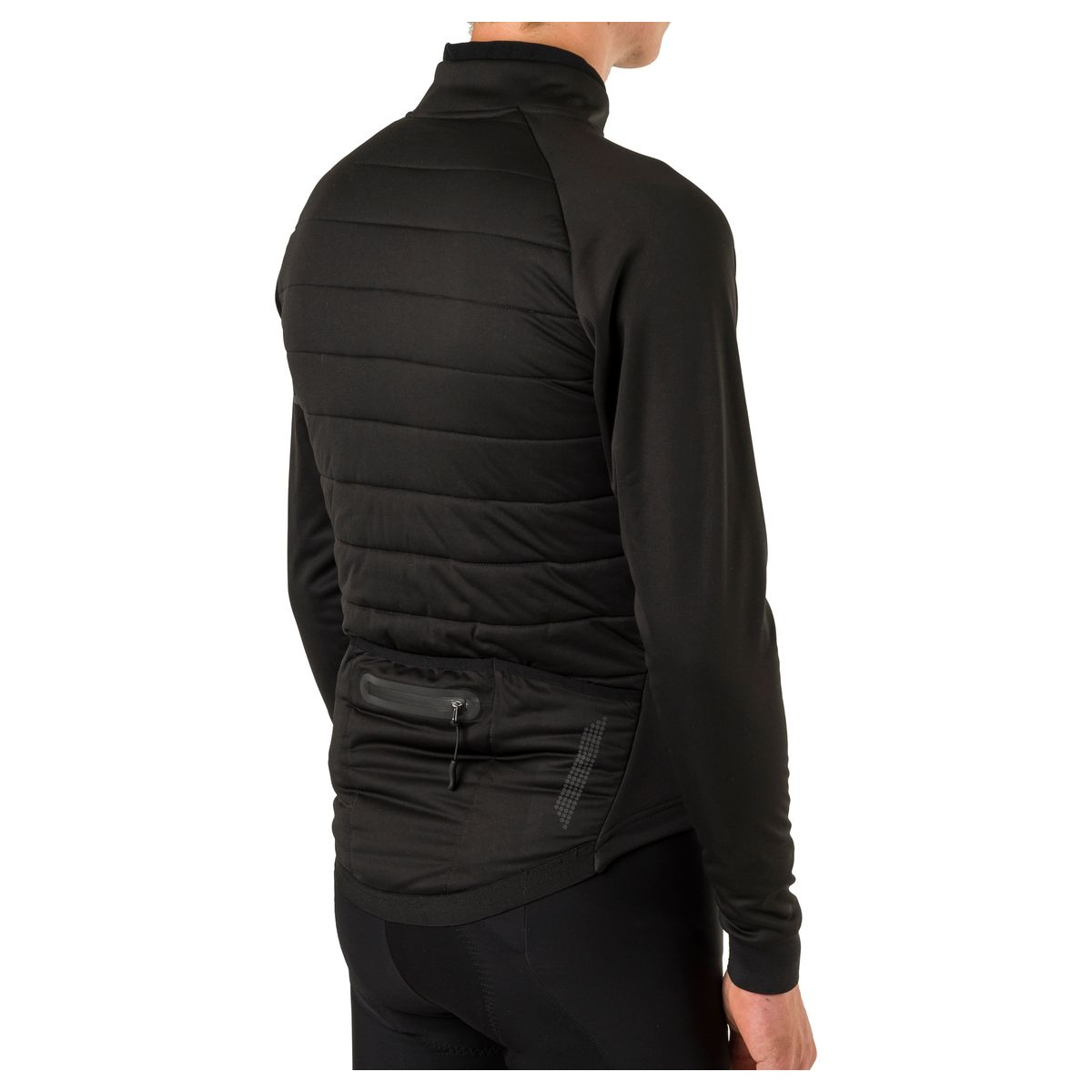Deep Winter Thermojack Essential Heren Heated fit example