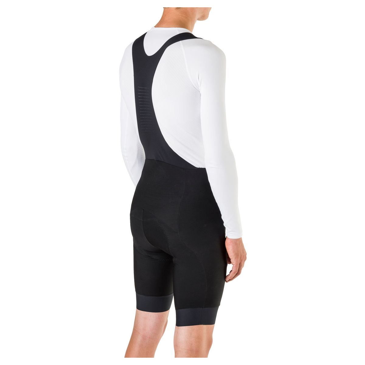 Winter Bibshort Six6 Heren DWR fit example