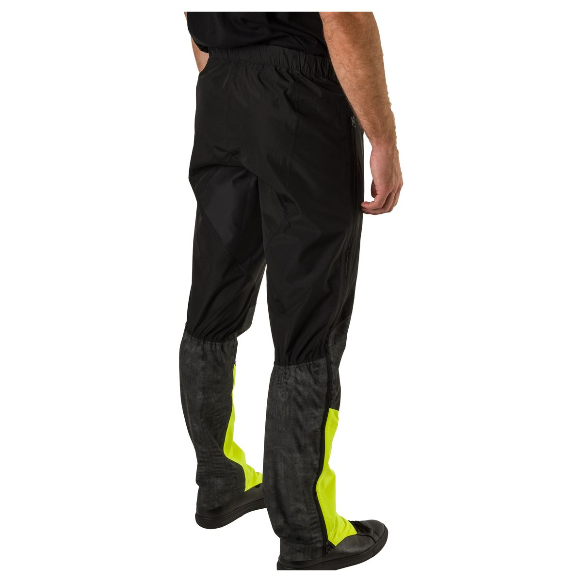 Tech Regenbroek Commuter Heren Hi-vis & Reflection fit example