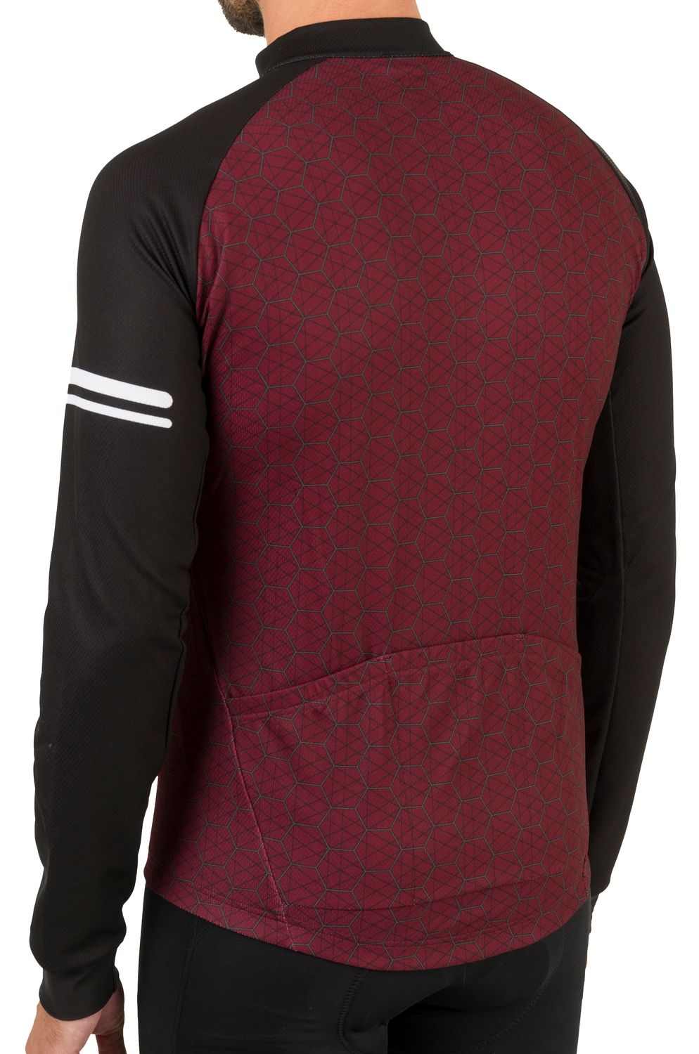Wire Fietsshirt Lange Mouwen Essential Heren fit example