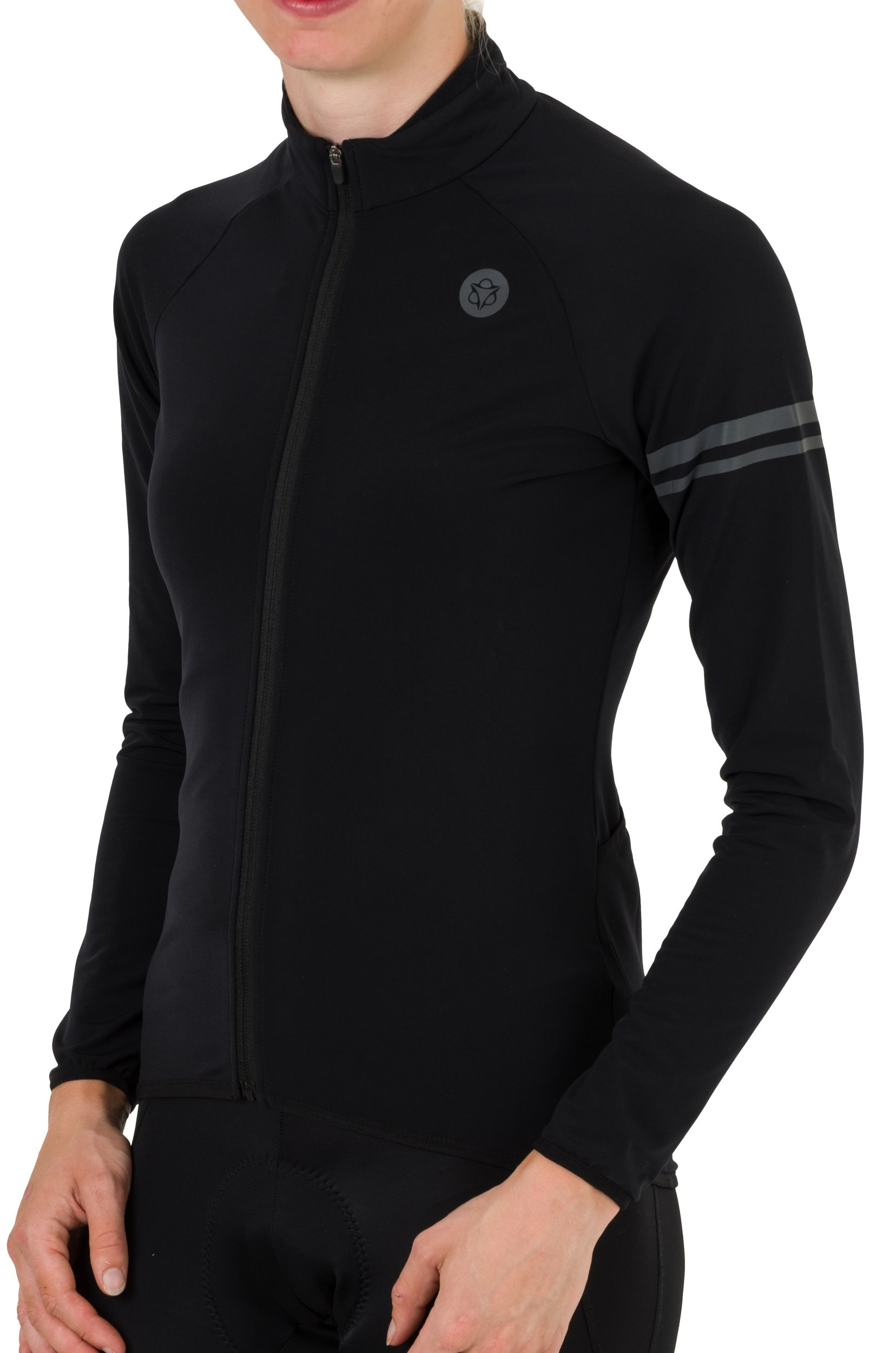 Thermo Fietsshirt Lange Mouwen Essential Dames fit example
